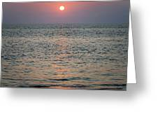 Sunset Beach Cape May New Jersey Greeting Card