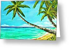 Sunset Beach#370  Greeting Card