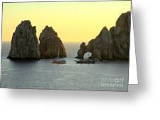 Sunset Cabo 4 Greeting Card