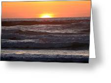 Sunset Cannon Beach Greeting Card