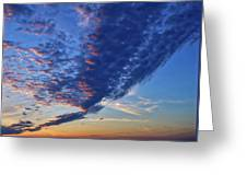 Sunset Cloud Formation Greeting Card