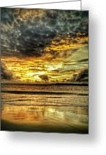 Sunset Clouds Greeting Card