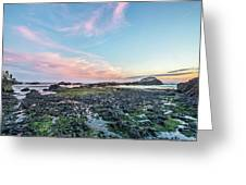 Sunset Colors In Oregon Greeting Card