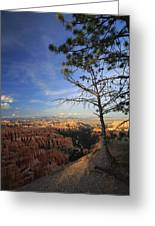 Sunset Colours Bryce Canyon 3 Greeting Card