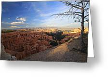 Sunset Colours Bryce Canyon 4 Greeting Card