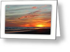 Sunset Complete Greeting Card