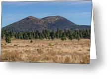 Sunset Crater Greeting Card