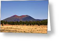 Sunset Crater Volcano National Monument Greeting Card