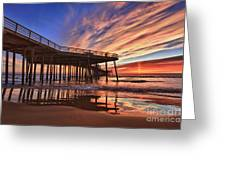 Sunset Drama Greeting Card
