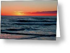 Sunset For Mia H A Greeting Card