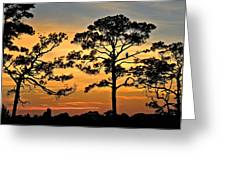 Sunset For One Greeting Card