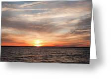 Sunset Gate 17 2 Greeting Card
