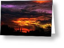 Sunset H16 Greeting Card
