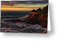 Sunset Hdr Greeting Card