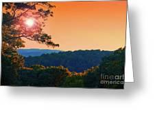 Sunset Hills Greeting Card
