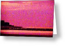 Sunset Hilton Head Greeting Card