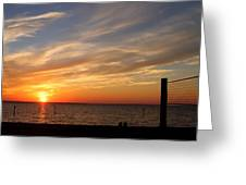 Sunset Huntingon Park Greeting Card
