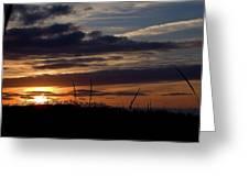Sunset I I Greeting Card