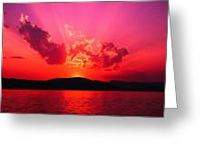 Sunset II Greeting Card