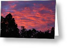 Sunset In Antioch Greeting Card