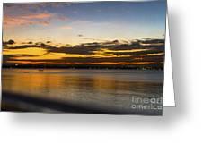 Sunset In Dar Greeting Card