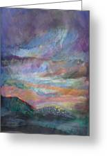 Sunset In Efrat Greeting Card by Bryna La