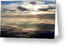 Sunset In Heaven Greeting Card