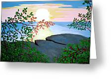 Sunset In Jamaica Greeting Card