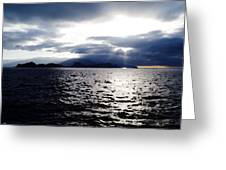 Sunset In Madeira Greeting Card