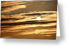 Sunset In Marysville Greeting Card