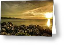 Sunset In Montego Bay Greeting Card