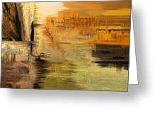Sunset In My Mind Greeting Card