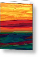 Sunset In Ottawa Valley 1 Greeting Card