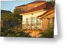 Sunset In Portugal  Greeting Card