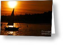 Sunset In Southern California Greeting Card
