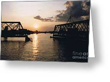 Sunset In Superior Wi Greeting Card