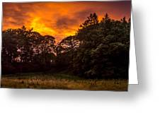 Sunset In The Shire Greeting Card
