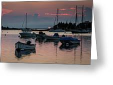 Sunset In West Falmouth Greeting Card
