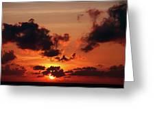 Sunset Inspiration Greeting Card