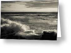 Sunset - La Jolla Cove Greeting Card