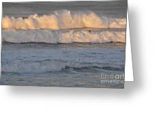 Sunset Layers Greeting Card