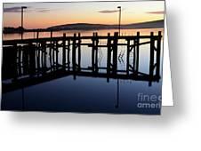 Sunset Magic Bodega Bay California Greeting Card