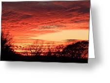 Sunset Magic Greeting Card