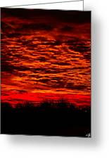 Sunset Of New Mexico Greeting Card by Savannah Fonner