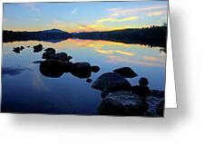 Sunset On Lake Harris 2 Greeting Card