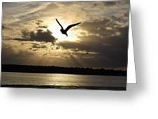 Sunset On Sanibel Greeting Card