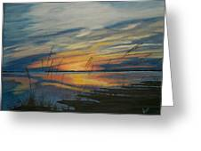 Sunset On St. Andrew Greeting Card