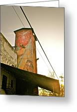 Sunset On The Mill Greeting Card
