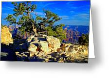 Sunset On The North Rim - Grand Canyon Greeting Card
