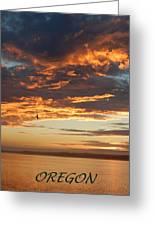 Sunset Oregon Greeting Card
